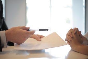 lening ondertekenen